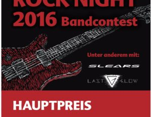 Rock Night Bandcontest – Bands gesucht